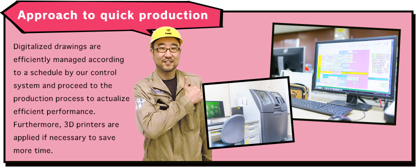 Approach to quick production