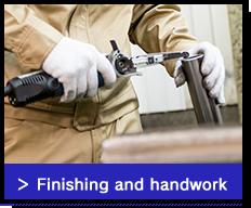 Finishing and handwork